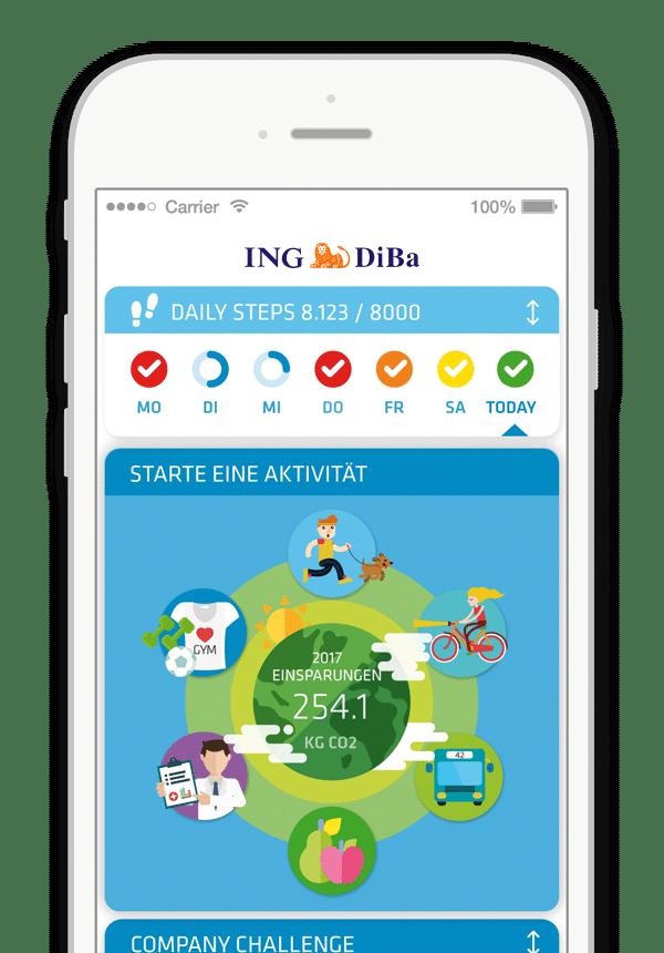 ING Bank iPhone
